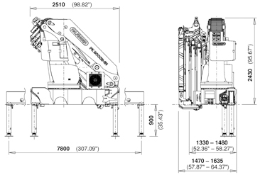 Palfinger Crane Wiring Diagram on crane reeving